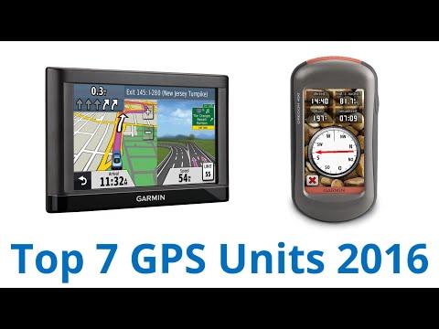 7 Best GPS Units 2016