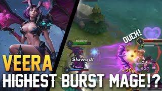 Strike of Kings: HIGHEST BURST MAGE!? Veera Gameplay