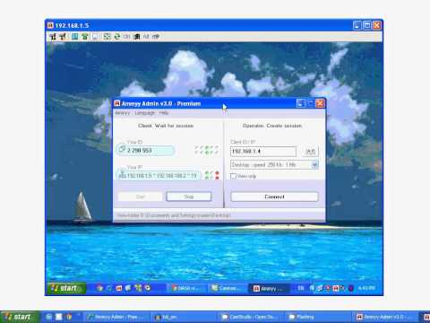 Remote Desktop Access Software Ammyy Admin.mp4
