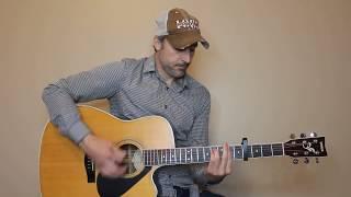 Rearview Town - Jason Aldean - Guitar Lesson | Tutorial