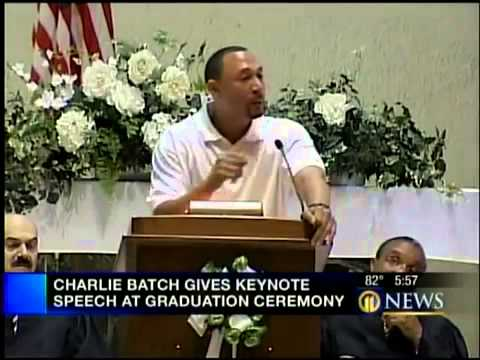 Charlie Batch as Keynote Speaker