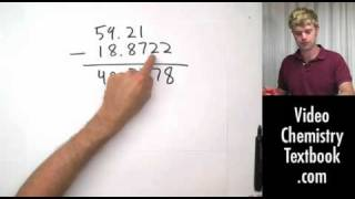 Add and Subtract with Significant Figures (1.6)