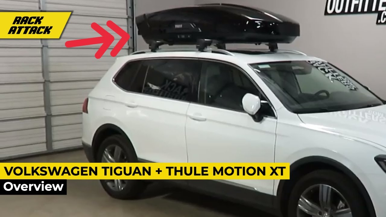 Thule Motion Xt >> 2018 Volkswagen Tiguan with Thule Motion XT XL Roof Top ...