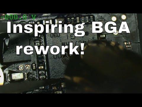 The PROPER Way To Solder BGA Chips.