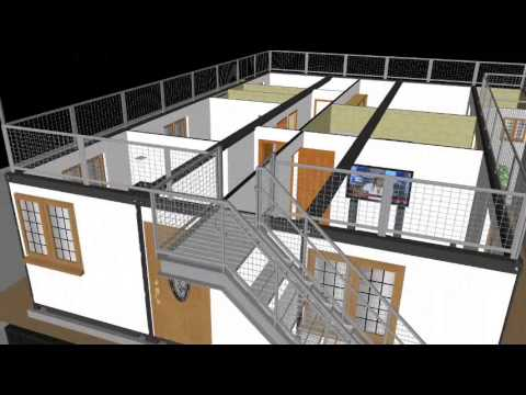 Maison en container par serigne mactar ba youtube Immeuble container