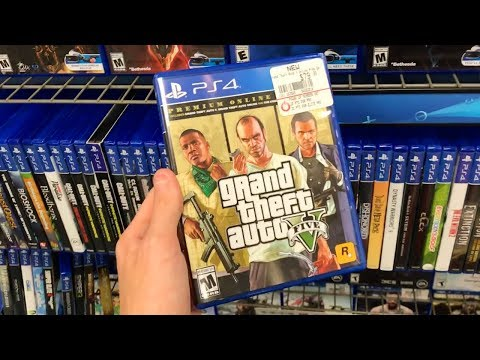 Buying The Grand Theft Auto 5 Premium Online Edition At Gamestop! (GTA 5 Premium Edition) [GIVEAWAY]