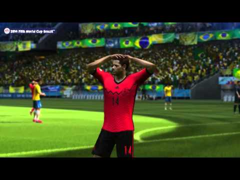 2014 FIFA World Cup Brazil - Simulación Del Partido Brasil Vs México