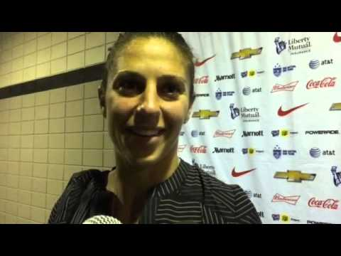 Carli Lloyd retirement: Why was she subbed out by Alex Morgan in ...