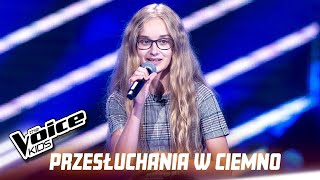 "Ola Olszewska - ""No Tears Left To Cry"" - Przesłuchania w ciemno 