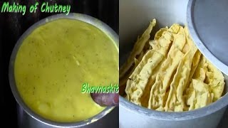 Fafda Making Stall With Full Recipe Of Fafda And Chutney By Bhavna