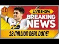 Daniel James Signs For Manchester United! Man Utd Transfer News