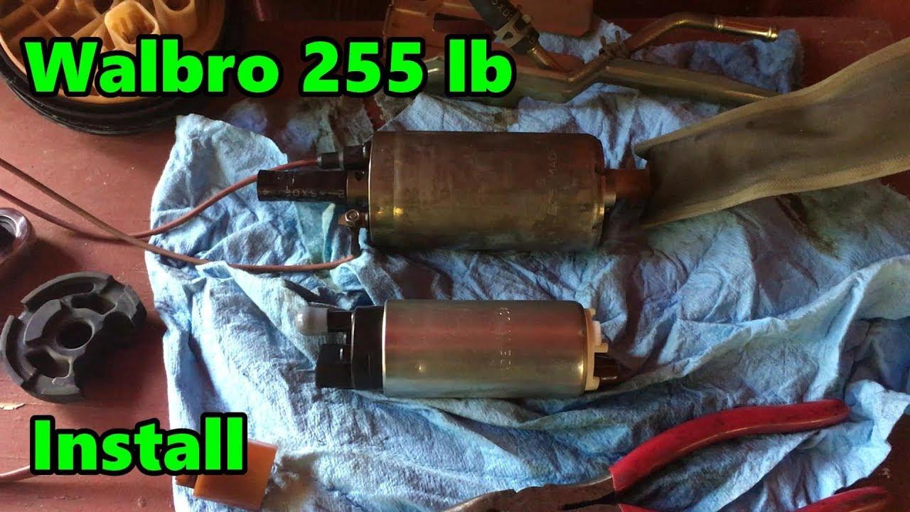 Walbro 255 Fuel Pump Install On The 240sx  S14  Drift Build
