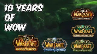My 10+ Years of World of Warcraft - 20k Sub Special