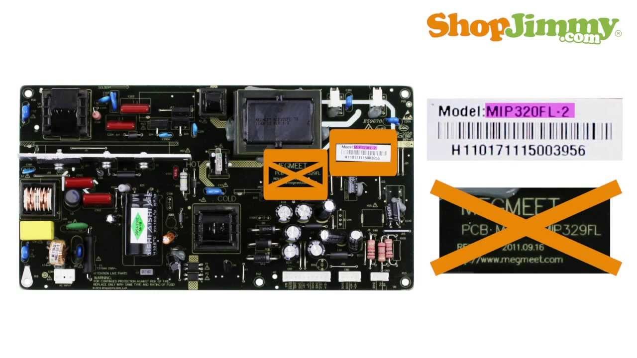 Apex Power Supply Unit (PSU) Boards: TVs Part Number Guide for LCD ...
