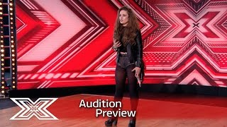 Repeat youtube video Preview: Samantha Lavery does her granddad proud   The X Factor 2016