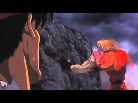 Street Fighter 2 The Animated Movie Ryu Vs Ken Youtube