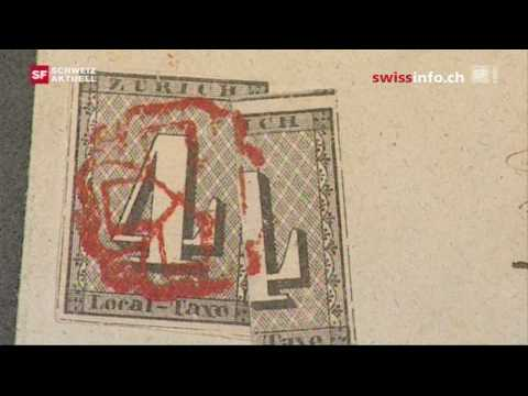 Swiss stamp auction includes many rare objects
