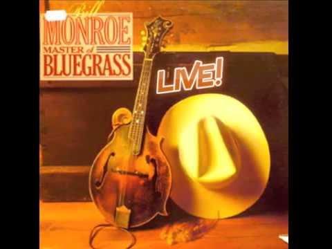 """Bill Monroe's """"Master of Bluegrass  Live!!"""""""