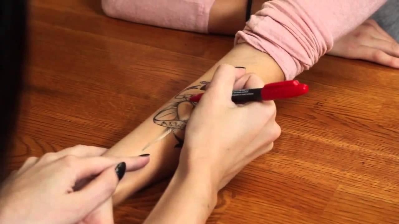 тату ручкой фото татуировки эскизы