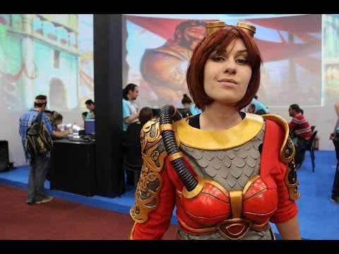 Vestindo o Cosplay - Chandra - Magic the Gathering - Primeira prova completa