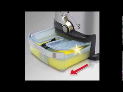 tefal fr 7013 oleoclean inox und design kaltzonen fritteuse test youtube. Black Bedroom Furniture Sets. Home Design Ideas