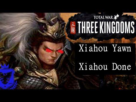 Total War Three Kingdoms Lu Bu - Fates Divided - Legendary - #2 - Xiahou Yawn, Xiahou Done! |