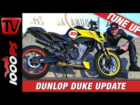 KTM 790 Duke Tuneup - Neues Fahrwerk! Die KTM 790 Duke R by 1000PS