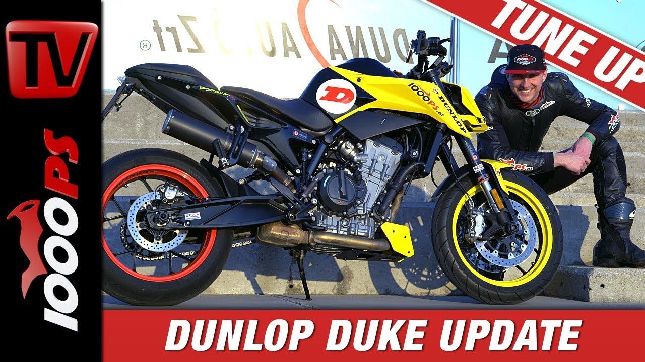 Video: KTM 790 Duke Tuneup - Neues Fahrwerk! Die KTM 790 Duke R by 1000PS