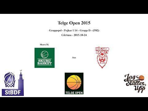 Skuru Basket (P02 Vit) mot Högsbo Basket - Telge Open - 2015-10-24