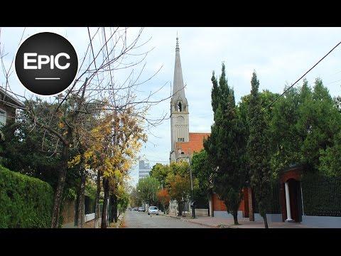 Banfield, Temperley, & Lomas de Zamora desde el auto - Buenos Aires, Argentina (HD)
