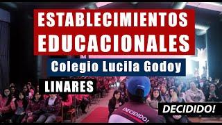 Charla Motivacional Colegio Lucila Godoy de Linares