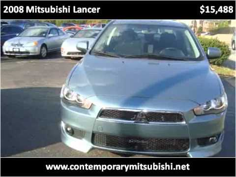 2008 Mitsubishi Lancer available from Contemporary Mitsubish