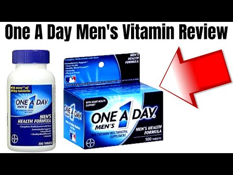 One A Day Men's Multivitamin Tablets Review