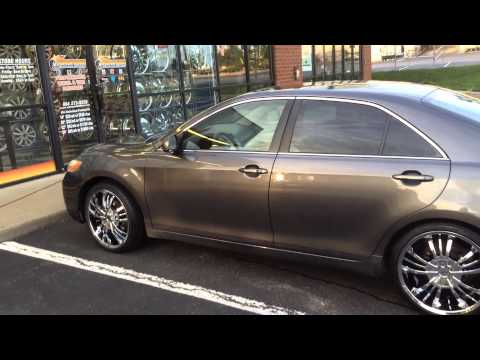 2007 Toyota Camry On Chrome 20 Quot Pinnacle P72 Wheels With