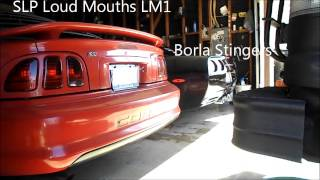 american graffiti cobra with lm1 mufflers z06 with borla stingers automotive music america