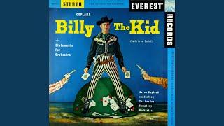 Billy the Kid, Ballet Suite: II. Street in a Frontier Town