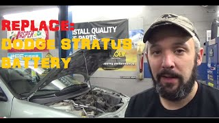 replace battery dodge stratus
