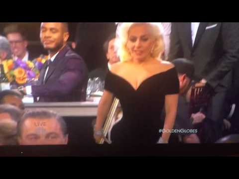 Leonardo DiCaprio Caught on Camera in Hilarious Golden Globe Moment — and It Involves Singer Lady Gaga