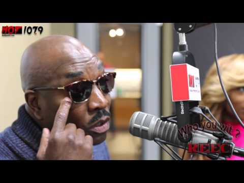 Clifton Powell  w: Reec On Hot 107 9