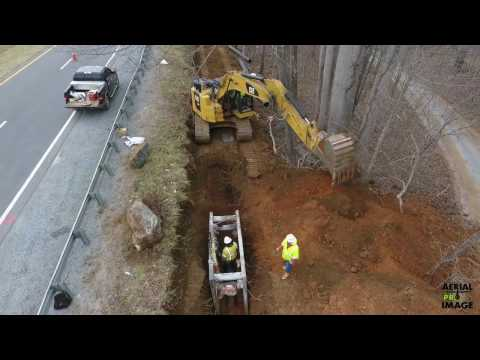 Pipe Laying Construction Video