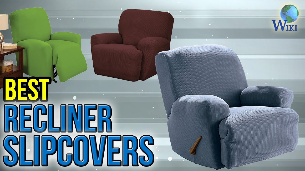 slipcover sure fit limestone cover recliner for gray