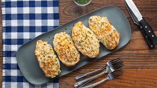 Shepherd's Pie Twice-Baked Potato • Tasty