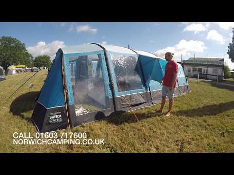 4f1e4cf7229 Vango Valencia 600XL Airbeam Tent 2019 - YouTube