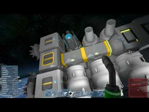 Space Engineers | Planet Survival - Ep 31 | New miner Flight and Mining Test