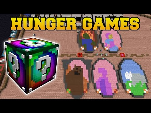 Minecraft: HEARTHSTONE HUNGER GAMES - Lucky Block Mod - Modded Mini-Game