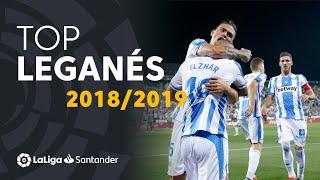 TOP Goles CD Leganés LaLiga Santander 2018/2019