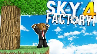 BEN IS THE WORST AND RUINS IT ALL - Minecraft SKY FACTORY 4 (FTB Feed The Beast) #1