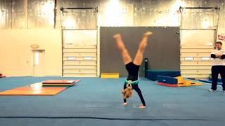 How to Do a Round Off | Gymnastics