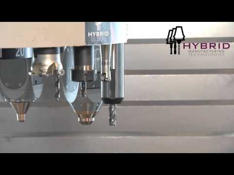 Industrial 3D Printing for CNCs by Hybrid Manufacturing Technologies