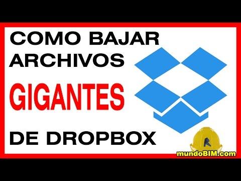 Como bajar carpetas grandes de Dropbox, fácil y seguro
